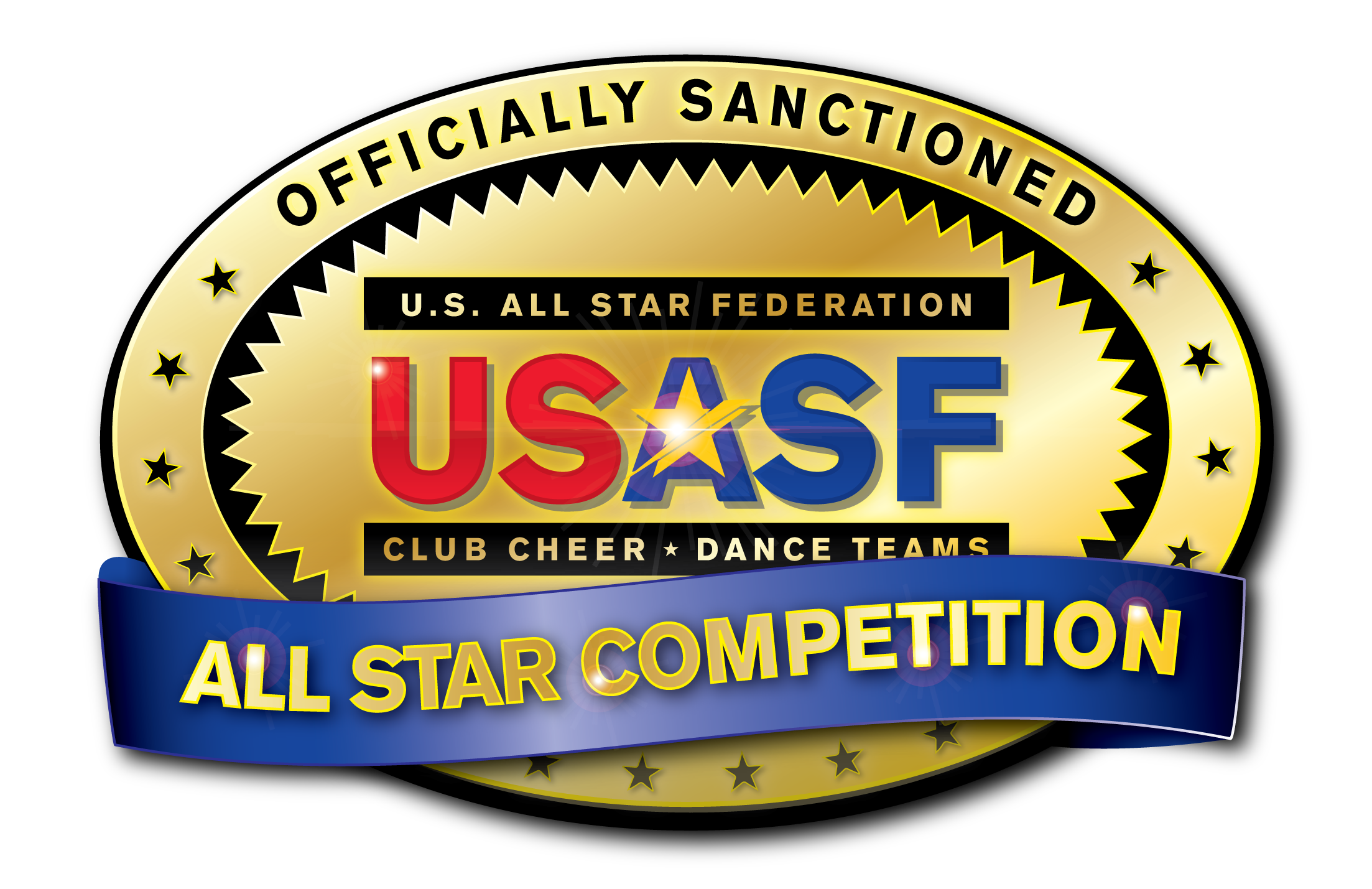USASF Official Seal All Star Competition